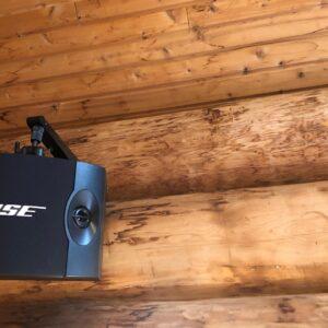 箱根のログハウスにBOSEのスピーカー設置で伺いました。2021.06.20